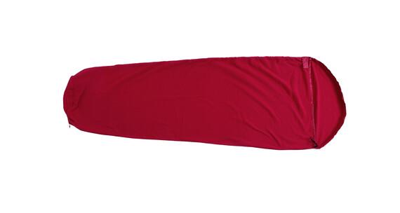 Basic Nature Fleece slaapzak Slaapzak mummievormig rood